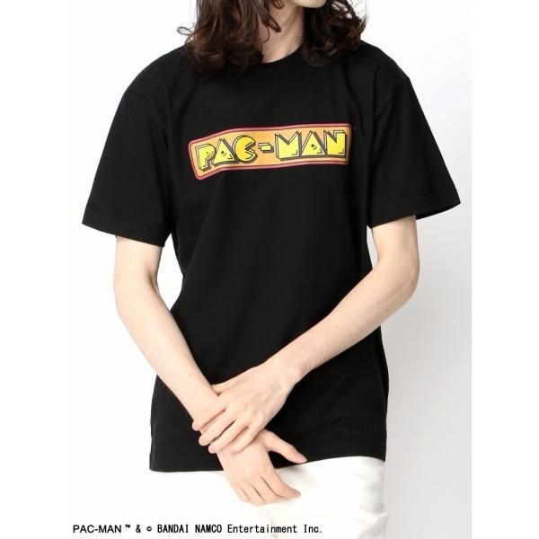 ウィゴー(WEGO|PACMANロゴプリントTシャツ)