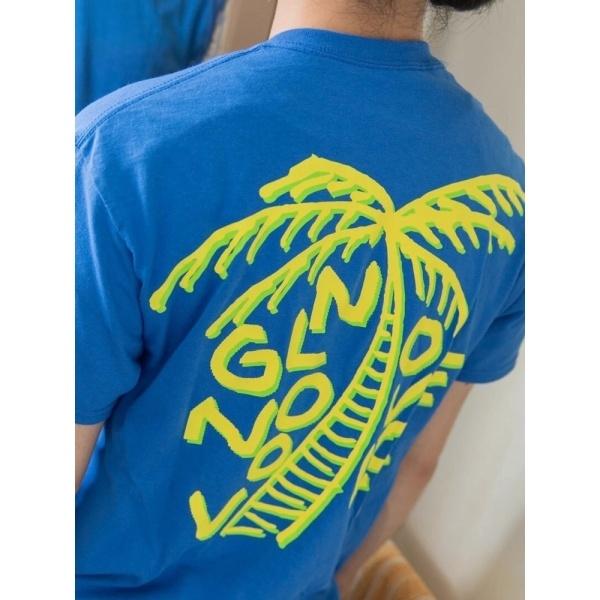 ウィゴー(WEGO|0.01 LATEX RUBBER RADIO パームツリーTシャツ)