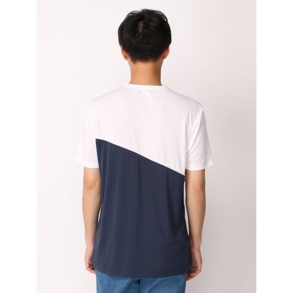 ジョルダーノ(LA切替Tシャツ)