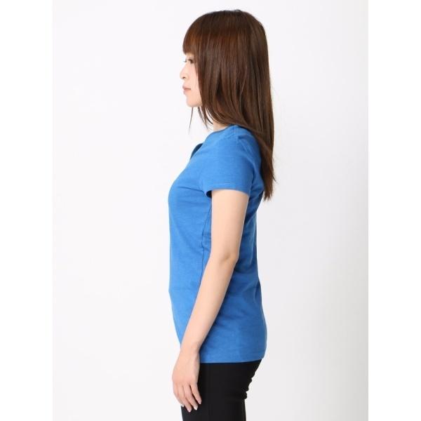 ジョルダーノ(Vネック半袖Tシャツ)