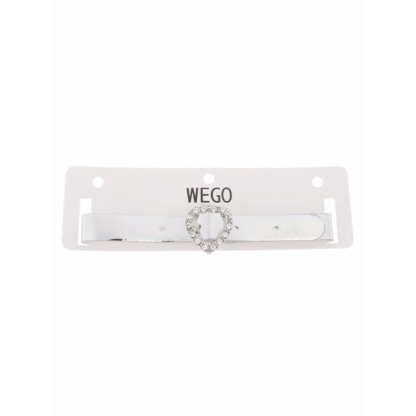 ウィゴー(WEGO/メタリックハートチョーカー)