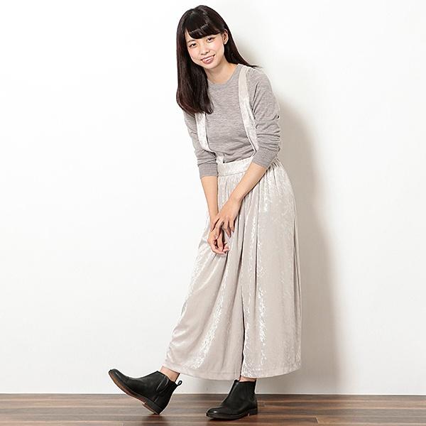 ベロアサロペットパンツ【mamaGIRL1月号掲載】