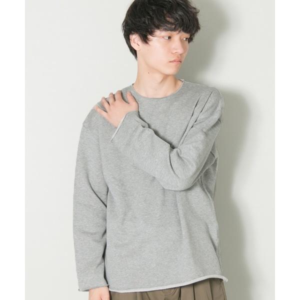 メンズTシャツ(スーピマカットオフクルーネックロングスリーブ)