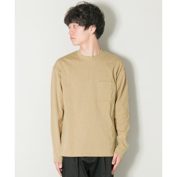 メンズTシャツ(ComfortLooseLong-Sleeve T-shirts)