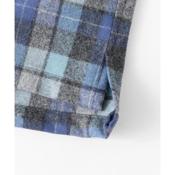 メンズシャツ(Pendleton×DOORS 別注オープンカラーシャツ)