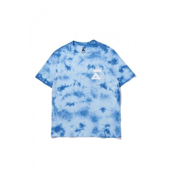 メンズタイダイプリントTシャツ