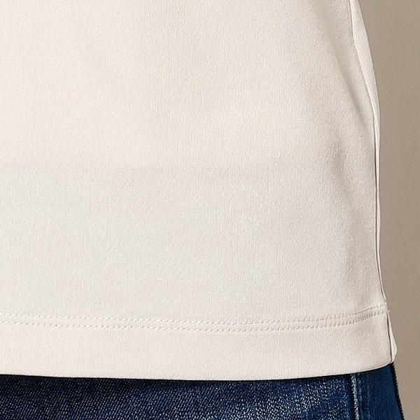 コンフォートストレッチUネックコンパクトTシャツ