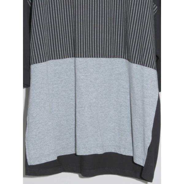 ウィゴー(WEGO/トリコロール切替Tシャツ)