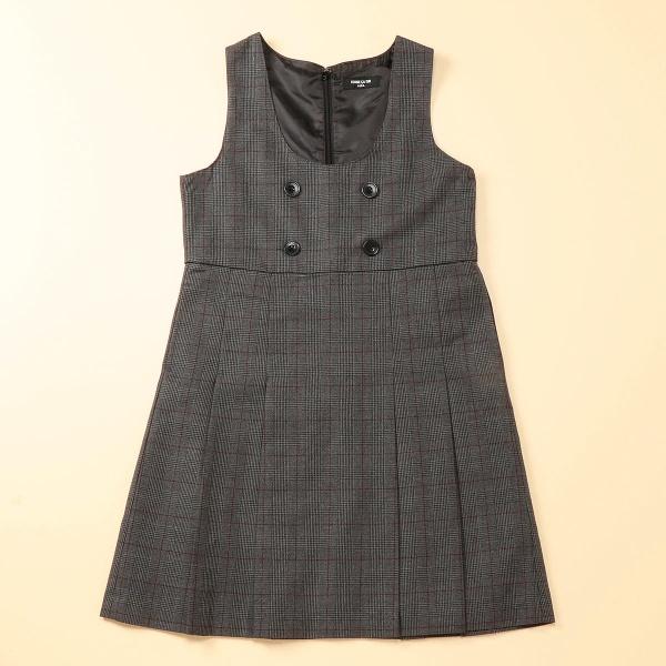 グレンチェックジャンパースカート(140~160cm)