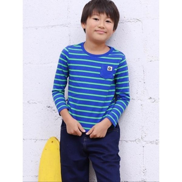 [マルイ]【セール】ジョルダーノ(KIDS ボーダーポケットTEE)/ジョルダーノ(メンズ)(GIORDANO)