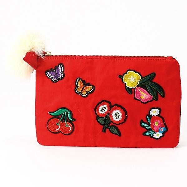 マルイウェブチャネル[マルイ]【セール】刺繍ワッペン付きポーチ/カカトゥ(kakatoo)