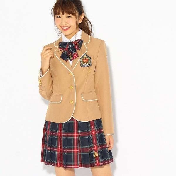 【卒服】エンブレム付きパイピングジャケット