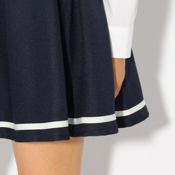 【卒服】セーラー風スカート