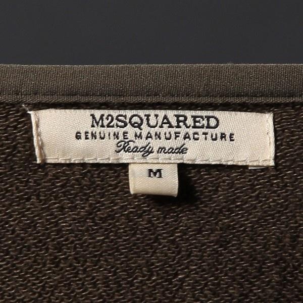 【M2 SQUARED】【WEB限定価格】切替キルトノーカラージャケット メンズ