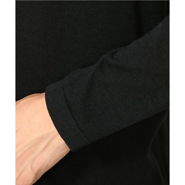 メンズセーター(シルク コットン ポロカーディガン)
