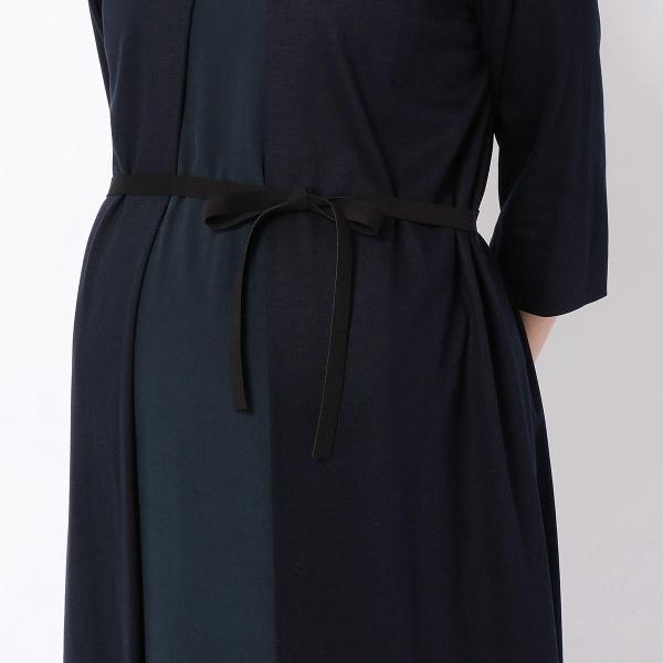ギザリヨセルポンチドレス(マタニティ)