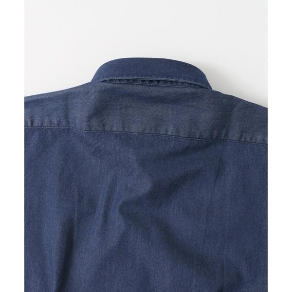 メンズシャツ(LIFE STYLE TAILOR indigo SHIRTS)