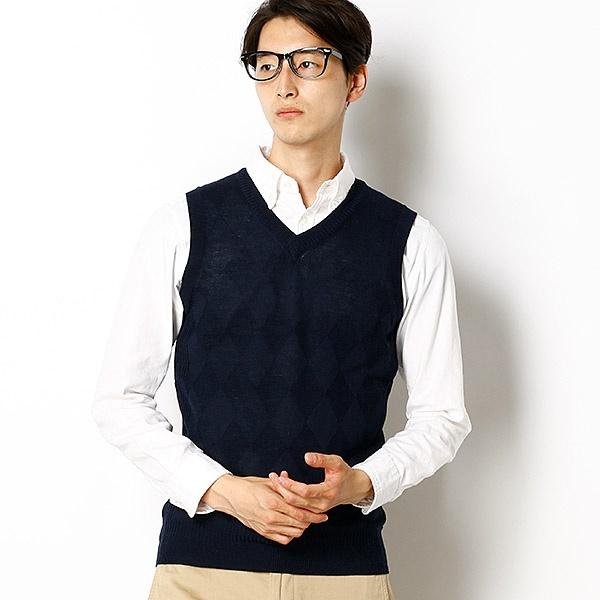 [マルイ] 【洗濯可能】COMFORT DRESS FOLCOベスト/メンズメルローズ(MEN'S MELROSE)