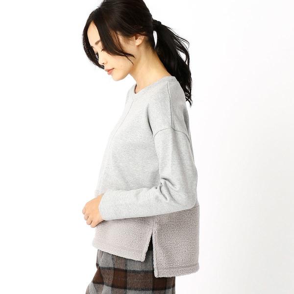 【ONIGIRI】ボアフリース切替プルオーバー