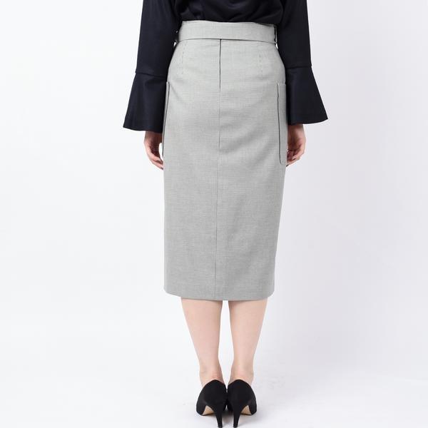 ポケットタイトスカート(柄)◆
