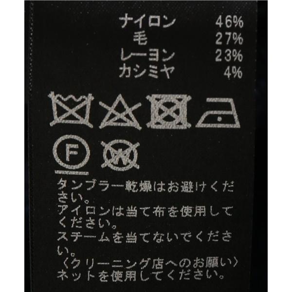 メンズセーター(カラーメランジ モックネックニット)