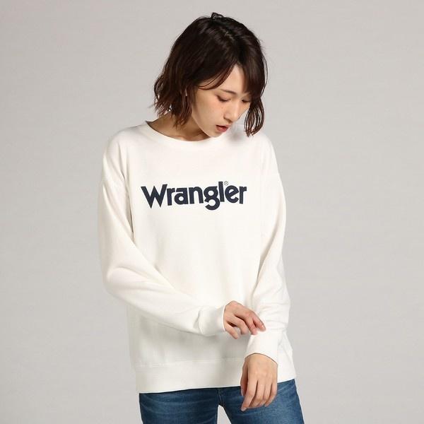 【Wrangler】【WEB限定価格】ロゴスウェットプルオーバー ウィメンズ