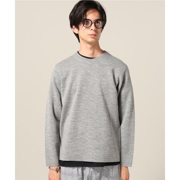 メンズセーター(《WOOL TEC》クールーネック)
