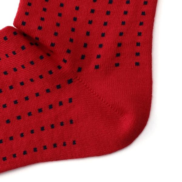 【直営店オリジナル商品 レディースサイズ】 目出鯛(めでたい)靴下 豆絞り クルー丈ソックス