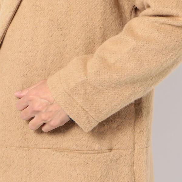 FOX HAUS: シャギーウール コート