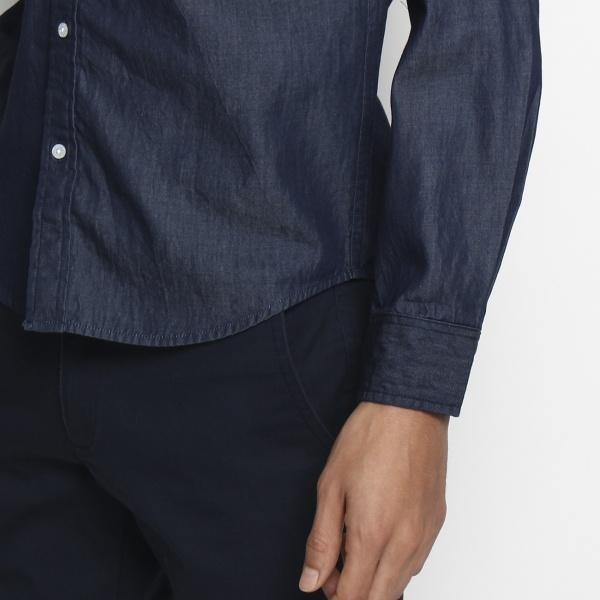 スターライン 4.5オンスデニム ボタンダウンシャツ
