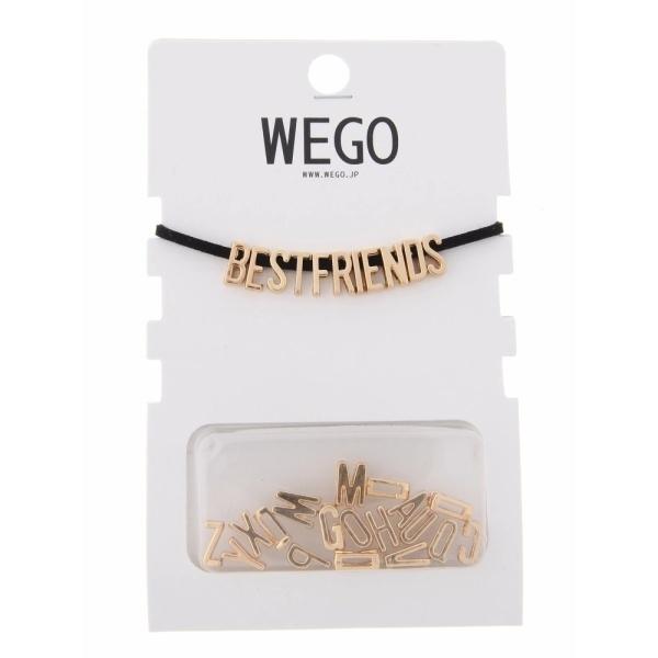 ウィゴー(WEGO/レタードチョーカー)