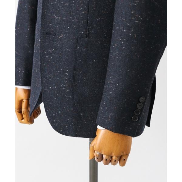 メンズジャケット(LIFE STYLE TAILOR カラーネップジャケット)