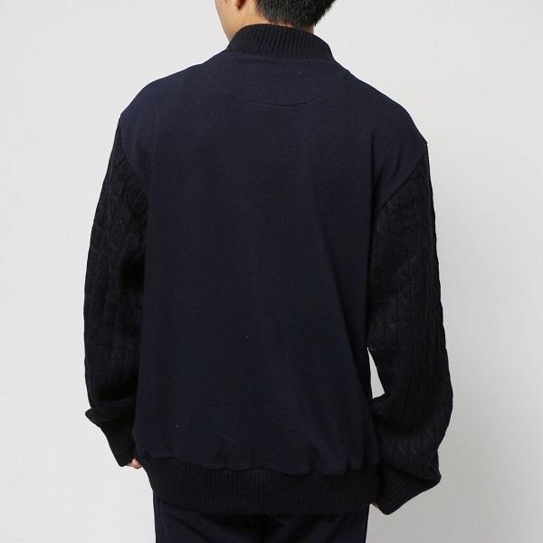 アーノルドパーマー裏毛ニット/ジャケット