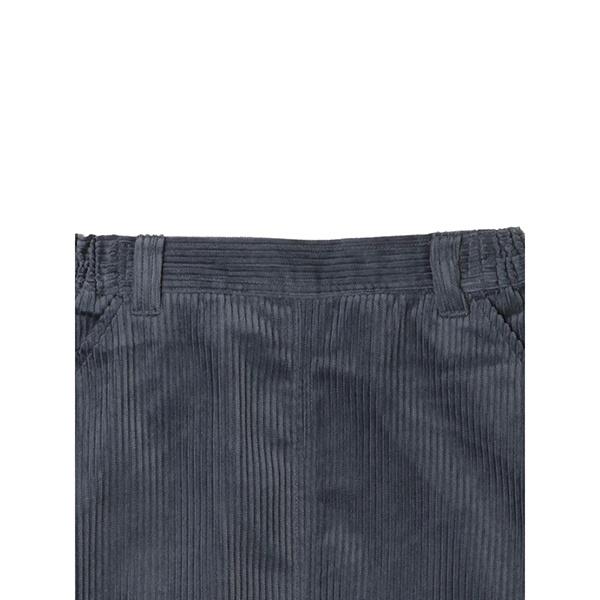 ・コーデュロイセミタイトスカート