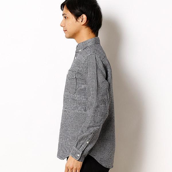 クラシックチェックパターンミックスシャツ