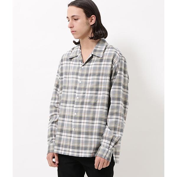 [マルイ]【セール】オンブレチェックオープンカラーシャツ/アダム エ ロペ(メンズ)(ADAM ET ROPE')
