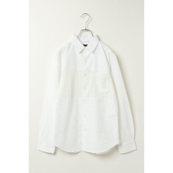 オックスニットキリカエシャツ