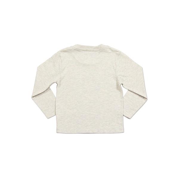 【キッズ】キッズロングスリーブTシャツ/花もようのワンピース(わたしのワンピース)