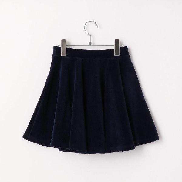 【Jrサイズ】ニットコールフレアスカート