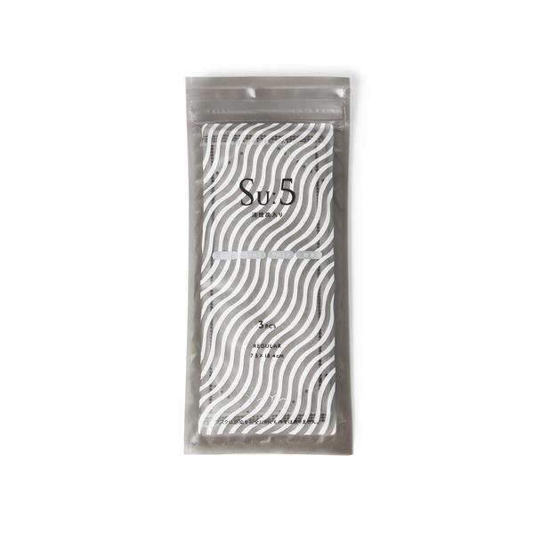 [マルイ] YAYA / Su:5活性炭マスクレギュラーサイズ(3枚入り)/ビームス ライツ(メンズ)(BEAMS LIGHTS)