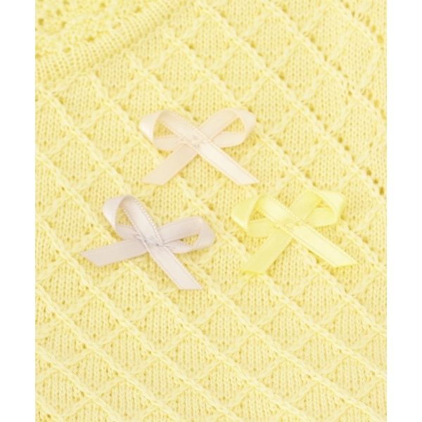 【BABY】Crochet Ribbon ワンピース