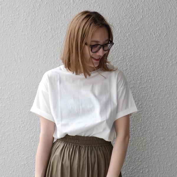 liflattie ships:クルーネック Tシャツ