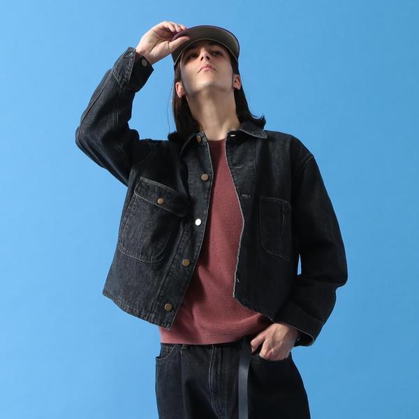 BEAMS / NEW STANDARD デニム ワイド カバーオール