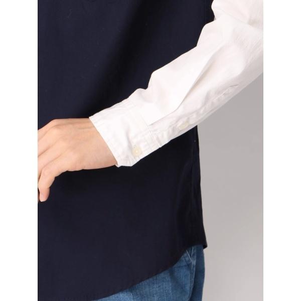 ウィゴー(WEGO/バイカラーシャツ)