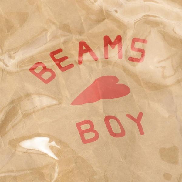 BEAMS BOY / BB ロゴ ポーチ
