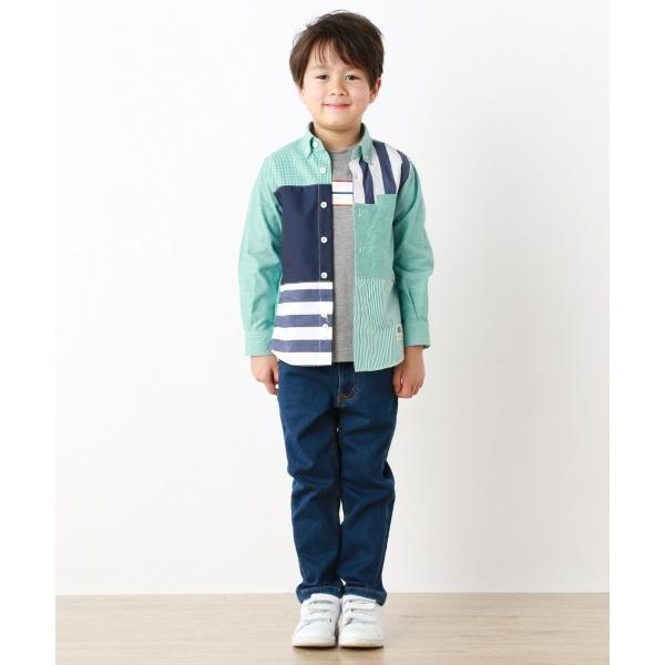 【TODDLER】クレイジーパターンシャツ