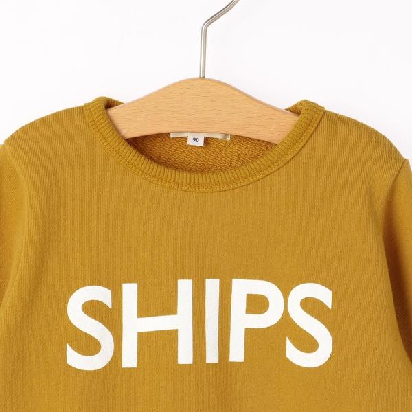 SHIPS KIDS:ロゴ スウェット(80~90cm)