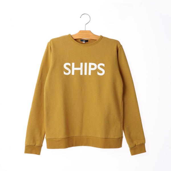 SHIPS KIDS:ロゴ スウェット(145~160cm)