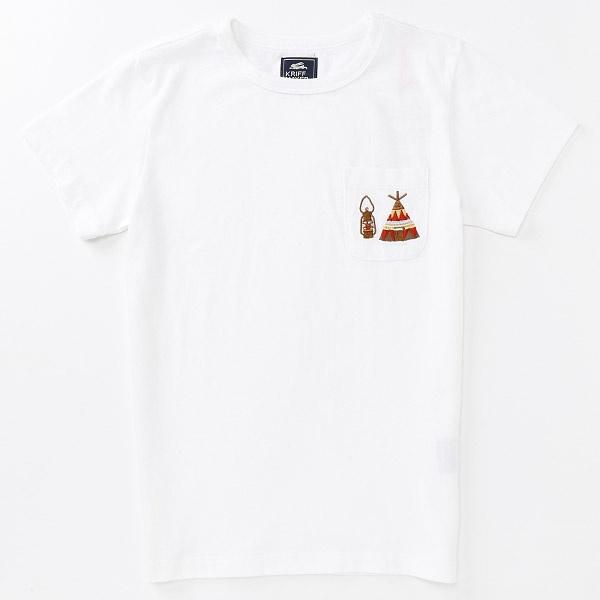 [マルイ]【セール】刺繍ポケT(キャンプ)【110cm-130cm】/クリフメイヤーキッズ(KRIFF MAYER KIDS)