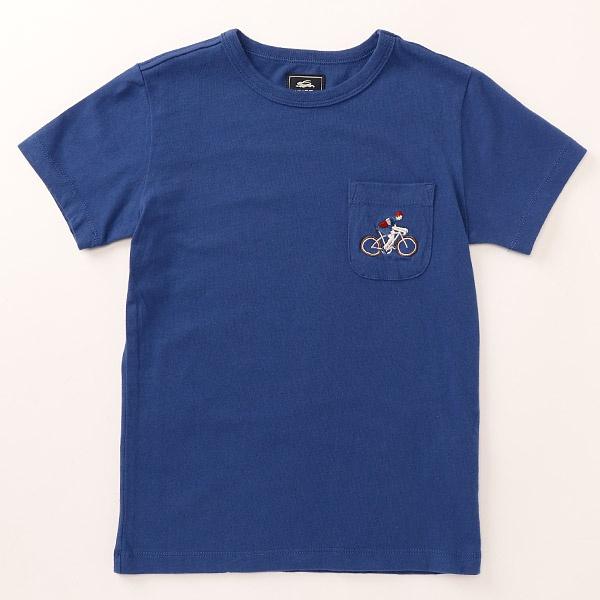 [マルイ]【セール】刺繍ポケT(サイクリング)【110cm-130cm】/クリフメイヤーキッズ(KRIFF MAYER KIDS)